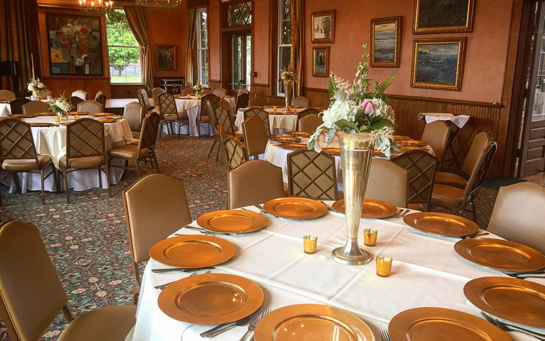 Wedding and banquet room